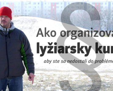 odporúčania k organizácii lyžiarskeho kurzu