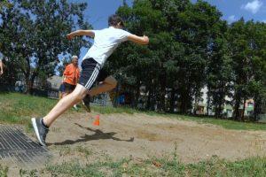 prípravné cvičenia na skok do diaľky